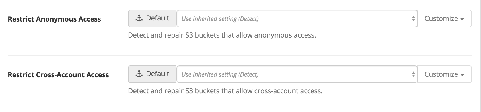 S3 Bucket Policies - Support for Custom Policies and Guardrails